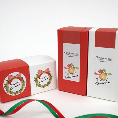 オリジナルラベルのクリスマスパッケージ