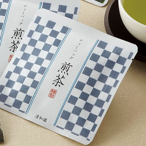 お茶のパッケージデザイン