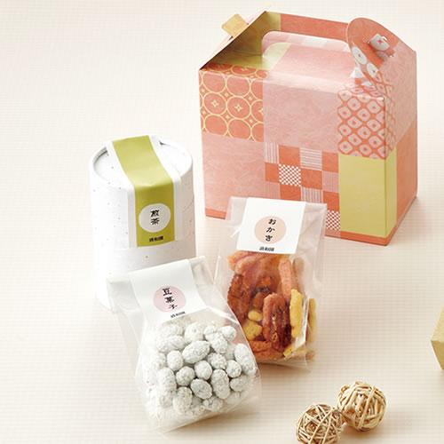 和菓子の手提げ箱パッケージ