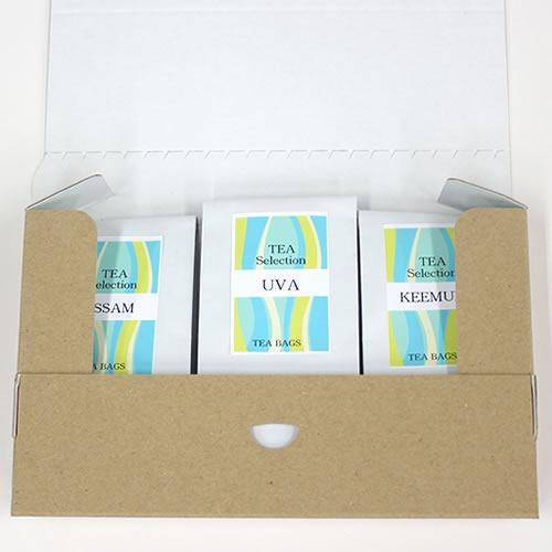 ナチュラルな紅茶・ハーブティの通販用梱包