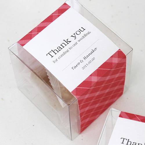 プチギフト 透明ボックス