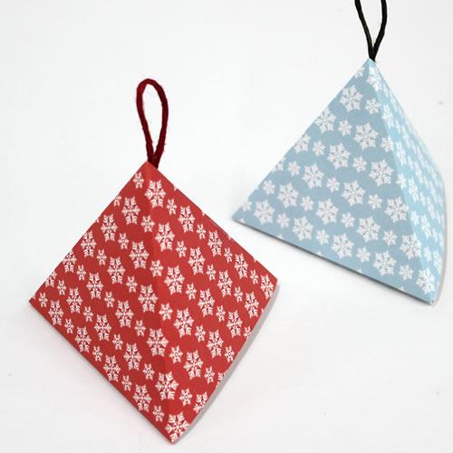 クリスマス お手軽プリント2対応 テトラ型パッケージ