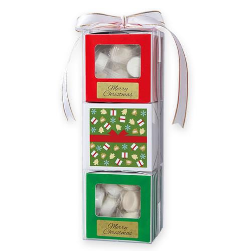 クリスマス キューブボックス ギフトパッケージ