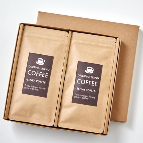 コーヒーパッケージ 100g平袋 クラフトケース