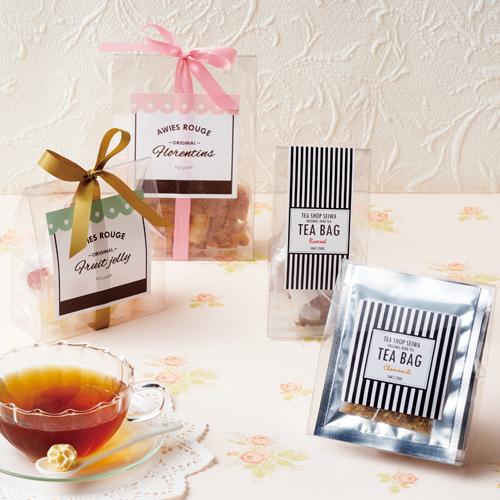 かわいいな紅茶菓子セットのプチギフト