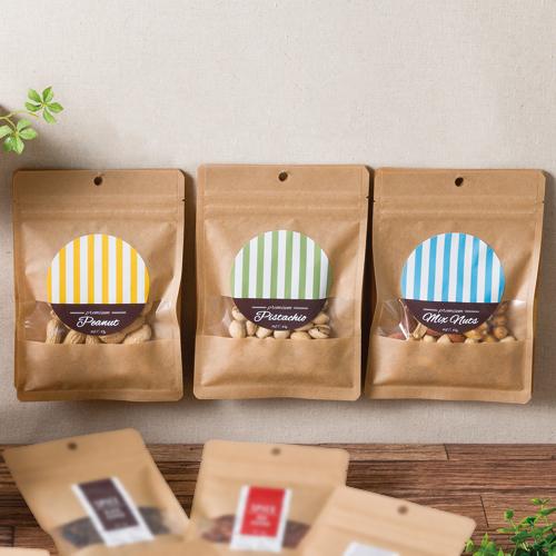 ナチュラルな健康(茶)食品のパッケージ