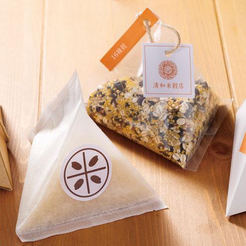 シンプルな米・雑穀のプチギフト