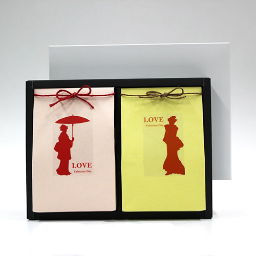 和風な洋菓子のバレンタイン