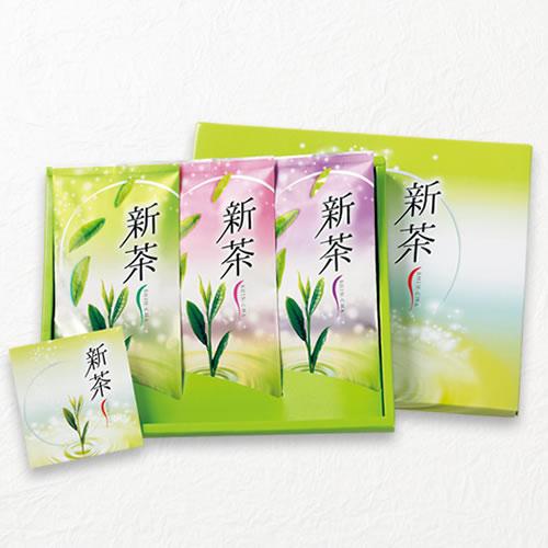 新茶ギフト 100g平袋×3本