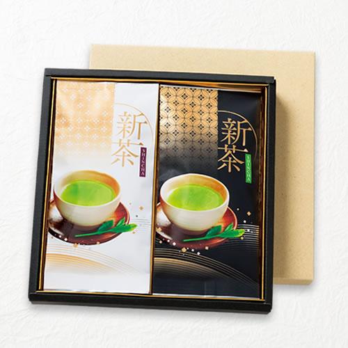 新茶ギフト 100g平袋×2本