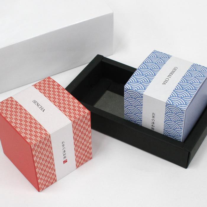 緑茶キューブパッケージ