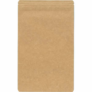 チャック付クラフトAL平袋 140×230