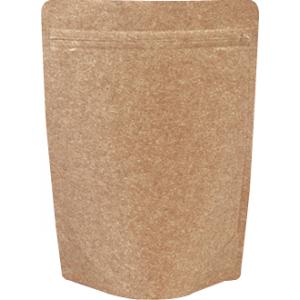 チャック付クラフトALスタンド袋160×230