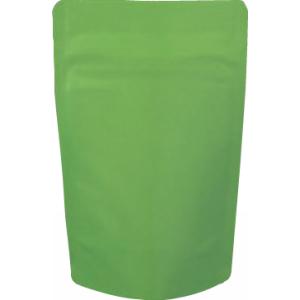 チャック付蒸着スタンド袋 緑90×145