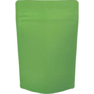 チャック付蒸着スタンド袋 緑110×170