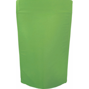 チャック付蒸着スタンド袋 緑160×270