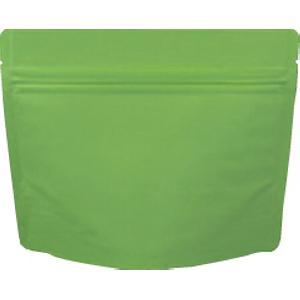 チャック付蒸着スタンド袋 緑170×140