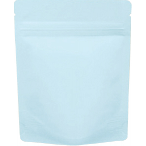 チャック付ALスタンド袋 薄青120×150