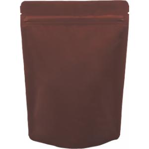 チャック付ALスタンド袋 茶160×230