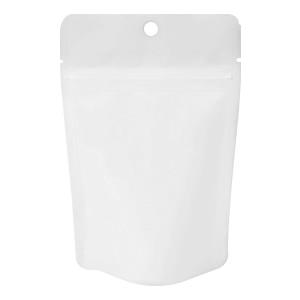 チャック付ALスタンド袋 白 穴あき110×170