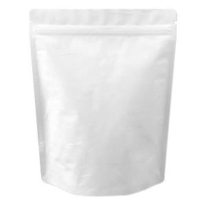 チャック付雲竜ALスタンド袋 白200×260
