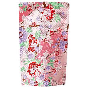 花友禅スタンド袋 ピンク 120×200