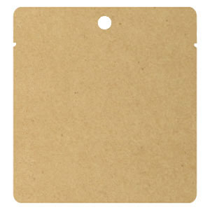 AクラフトアルミNY三方袋 穴あき 110×125