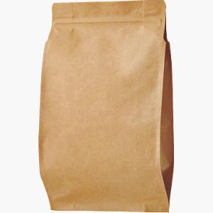 チャック付AクラフトALガゼット袋 200×330