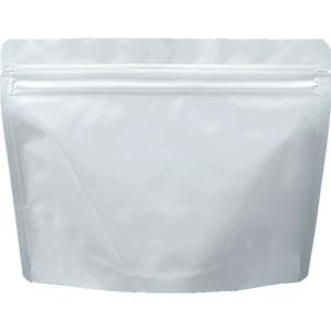 チャック付ALスタンド袋 白 210×160