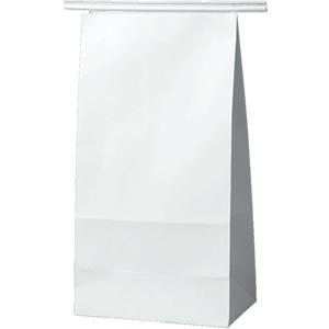 ワイヤー付角底袋 白 120×70×222