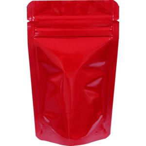 チャック付ALスタンド袋 赤 90×145