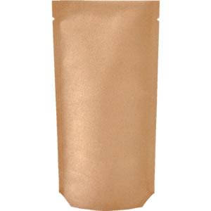 Aクラフト蒸着底折込スタンド袋 110×230