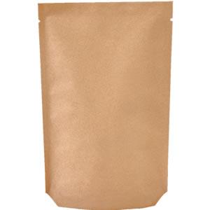 Aクラフト蒸着底折込スタンド袋 140×230