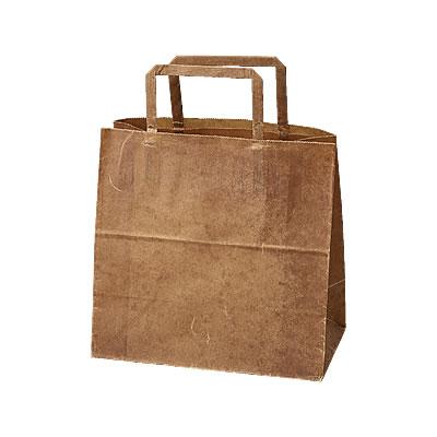 手さげ紙袋クラフトロウ引き220×120×215【ラッピング用品net】