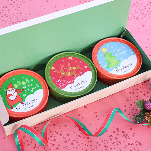 クリスマス 紅茶アソートパッケージ