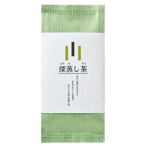 シンプルなお茶のパッケージ