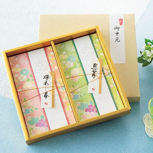 緑茶 御中元ギフトパッケージ