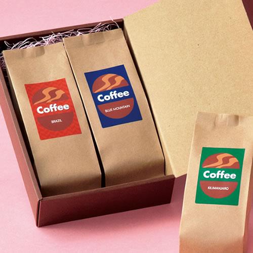 カジュアルなコーヒーのギフト