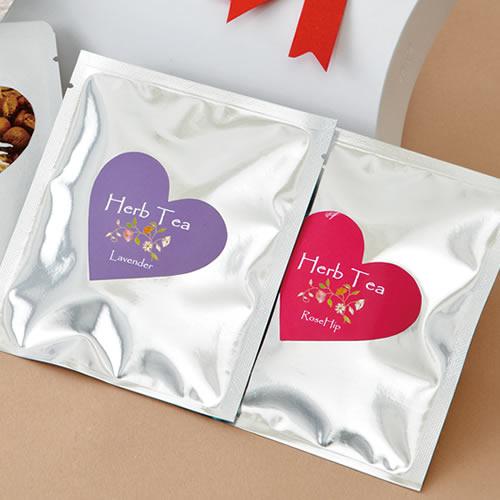 カジュアルな紅茶・ハーブティのパッケージ