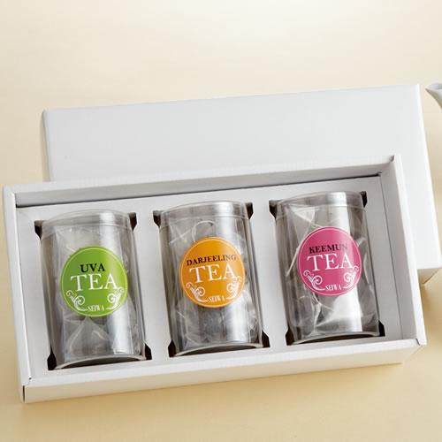 シンプルな紅茶・ハーブティのギフト