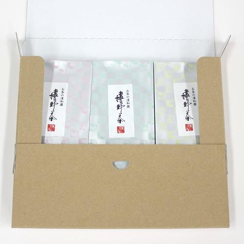 シンプルなお茶の通販用梱包