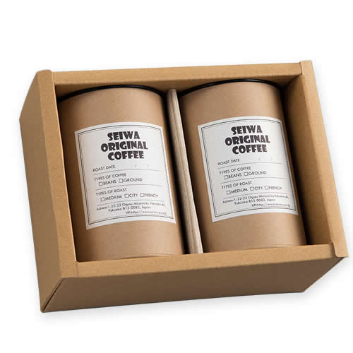 コーヒー クラフトボックス パッケージ