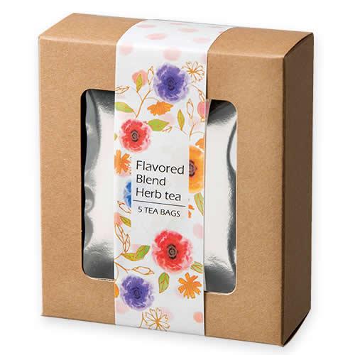 かわいいな紅茶・ハーブティのパッケージ
