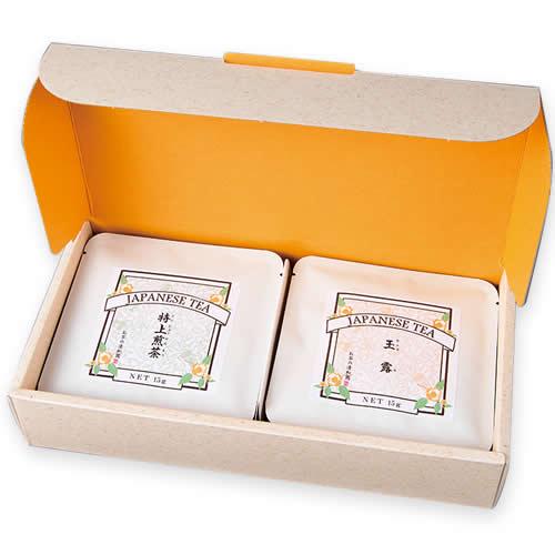 煎茶ティーバッグギフト パッケージ