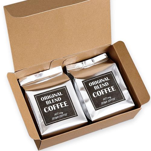 シンプルなコーヒーのギフト