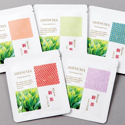 カジュアルなお茶の新茶
