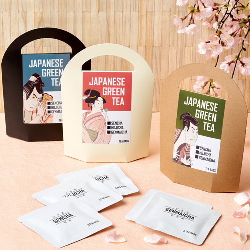 日本茶 緑茶パッケージ 外国人観光客 手土産