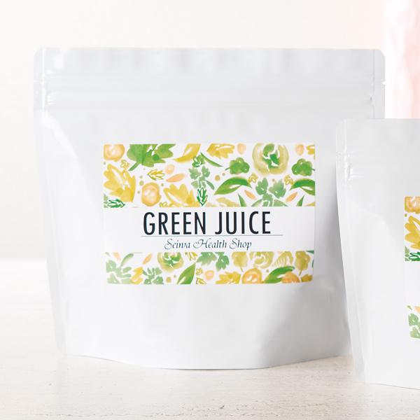 洋風な健康(茶)食品のパッケージ