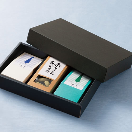 カジュアルなお茶と菓子セットの父の日ギフト