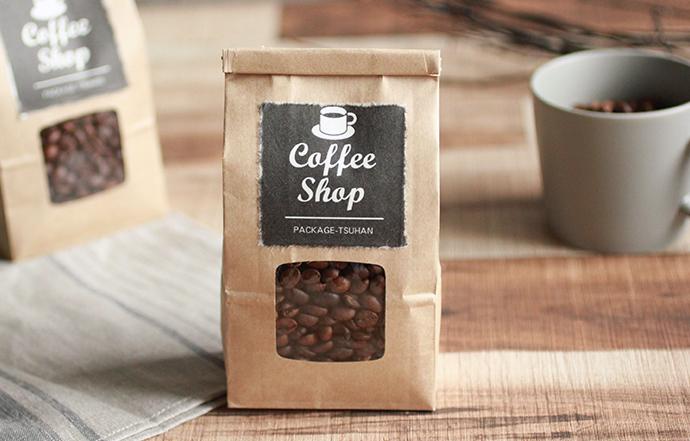 和紙 ラベル コーヒー